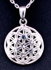 Toller schöner Anhänger Blume des Lebens Silber 925,Lebensbaum, top !