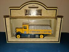 LLEDO 1/64 Diecast 1934 Mack Sack Truck Blue Circle Cement New in box DG3900