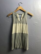 Lululemon Pedal To The Medal Singlet Silver Fox / Angel Wing Size 8