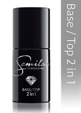 Semilac Base und Top 2 In 1 hybrid Nagellack 7ml
