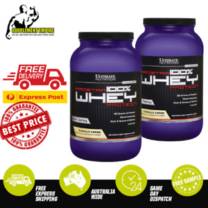 2 X Ultimate Nutrition Prostar 100% Premium Whey Protein Powder 2lb TWIN PACK
