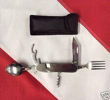 Fork knife spoon corkscrew canopener emergency prepper bug out bag MayDay camp
