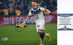 Bastian Schweinsteiger Signed 8x10 Photo BAS COA Autograph Germany World Cup