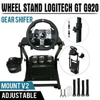Driving Racing Simulator Cockpit Steering Wheel Stand For Logitech G920 PS4 T300
