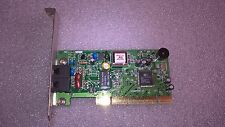 Scheda modem AMI-CA52/CW52+ CPCM0P9006-02 56K V.92 PCI chip Conexant HSFI