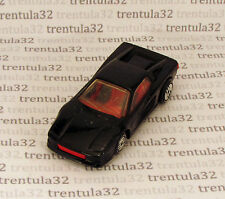 Ultra-Rare FERRARI TESTAROSSA Black w RED/BLACK Interior 1987 Hot Wheels Loose