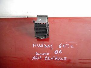 BOCCHETTA ARIA CENTRALE DX HYUNDAI GETZ 1.5 CRDI 2002-06