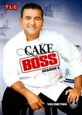 Cake Boss: Season 5, Vol. 2 (DVD, 2014, 2-Disc Set) New