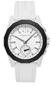 Emporio Armani Unisex Hybrid Smartwatch Connected Weiß AXT1000 Neu c12.3 27620M1