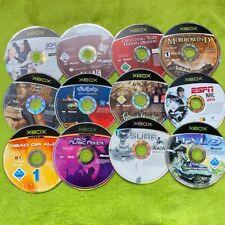 XBox Classic - divers jeux (CD seulement) entre autres Batman, Halo, Dead or Alive VA !