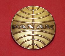 Vintage PAN AM AIRLINES Pilot Captain Flight Attendant Stewardess Pin Hat Badge