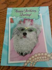 New Birthday Greeting Card Leanin' Tree Happy Birthday Darling!