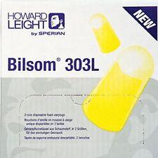 20 paires de Howard Leight Bilsom 303l Bouchons D'oreille
