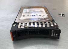"IBM 42D0673 73GB SAS 15K 6Gb 2.5"" HD 42D0672 72GB + CADDY 4 x3650 M2 M3 x3550"