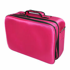 Makeup Bag Organizer Professional Waterproof Travel Cosmetic Case With Strap