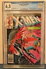 UNCANNY X-MEN 201 6.5 CGC WP NS ED.1ST APP. BABY NATHAN/CABLE. STORM BEC. LEADER