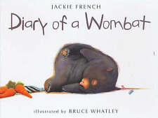 DIARY OF A WOMBAT by Jackie French (Hardback, 2002) LIKE NEW - DELIGHTFUL