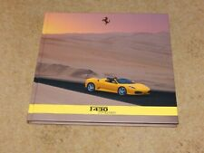 FERRARI F430 SPIDER Hardback Brochure Book 2005 (430) MINT condition #2239/05