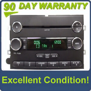 2009 - 2015 Ford F250 F350 Econoline OEM Single CD AM FM Radio Reciever