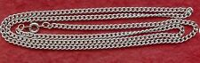 Stainless Steel Curb Chain Necklace long 24 inch 60cm 3.25mm Diameter