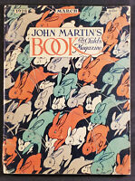 John Martin's Book The Child's Magazine March 1928 Stories/Puzzles/Games