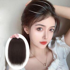 Hair Seamless Clip Fake Fringe Hair Hairpiece Side Bangs Invisable Hair Pads