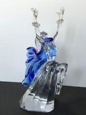 Swarovski Crystal Isadora 7400 200 200 LN Cond., Orig. Box & COA, Plaque & Stand
