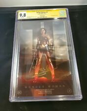 Wonder Woman #31 CGC 9.8 SS. SIGNED by Gal Gadot  NYCC Foil.
