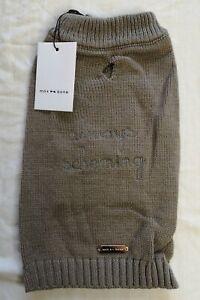 Max Bone Dog Knit Brown Always Scheming Jumper Size M Medium New With Tags