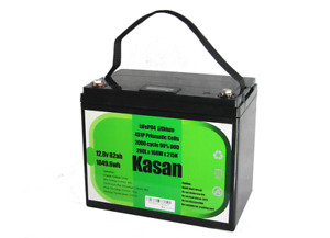 Deep cycle Lithium battery 12v 82AH LiFePO4 battery for car and ups or solar Ene