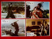 REVENGE OF THE NINJA 1983   SHO KOSHUGI   KUNG FU  KARATE RARE EXYU LOBBBY CARDS