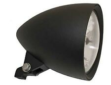 "Scheinwerfer Highsider Classic schwarz 5 3/4"" Chopper Custom Headlight Klarglas"