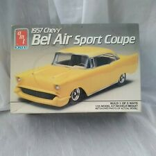 Amt/Ertl 1957 Chevy Bel Air Sport Coupe kit#6563 Open Box Factory Sealed Parts