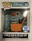 Funko Pop! Clown in Jack in the Box Cart The Nightmare Before Christmas IN HAND