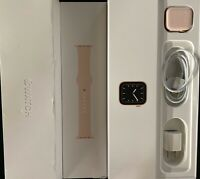 Apple Watch Series 5 40mm Gold Pink LOCKED - MINT In Box