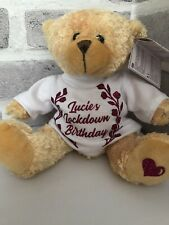 PERSONALISED LOCKDOWN BIRTHDAY TEDDY BEAR