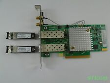 SOLARFLARE S6102 SF329-9021 DUAL PORT 10GB With 2 GBIC's High Profile