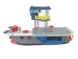 Imaginext Sky Racers Ship Boat Aircraft Carrier Fisher Price