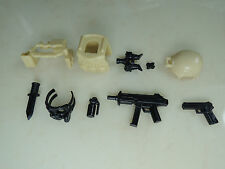 (no.9-12) custom swat police NAVY SEAL gun army weapons for LEGO minifigure