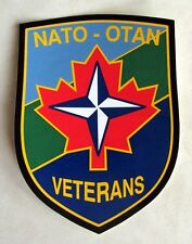 Canadian NATO - OTAN Veterans Decal Sticker