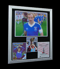 IPSWICH TOWN 1981 UEFA CUP FINAL LTD Numbered FRAMED+EXPRESS GLOBAL SHIPPING