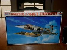 LOCKHEED F-104G/S  STARFIGHTER Plane, Plastic Model Plane Kit, Scale 1/48