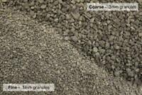 BULKSCENE - 1mm & 3mm Model Rail Track Ballast Gravel Granite Grey OO/HO