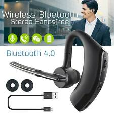 Bluetooth Wireless Built In Mic Ear-Hook Single Earphone For iOs & Android Phone