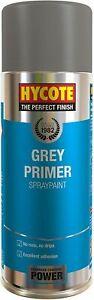 HYCOTE GREY PRIMER SPRAY PAINT AEROSOL CAR MULTI-PURPOSE PREPARATION 400ML