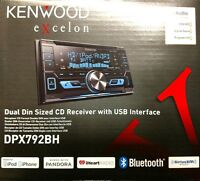 KENWOOD EXCELON DPX792BH Dual Din Sized CD Receiver with USB Interface