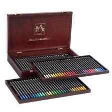 CARAN d'Ache MUSEUM AQUARELLE MATITE a Colori - 76 Colori, Scatola in legno Set Regalo