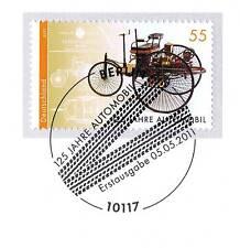 BRD 2011: Autos 125 Jahre! Nr. 2867 mit Berliner Ersttags-Sonderstempel! 1A! 155