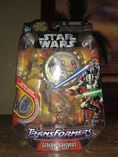 Hasbro Star Wars Transformer : General Grievous Wheel Bike Action Figure