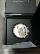 Star Wars Silbermünze Silver Coin 1oz C3PO Disney Niue 1 Unze